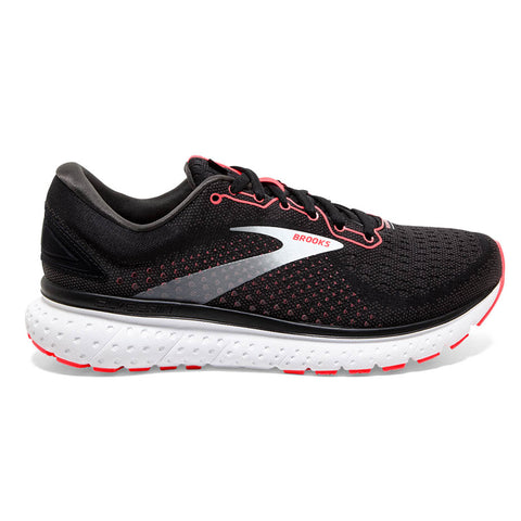 BROOKS GLYCERIN 18 WOMEN'S BLACK CORAL WHITE