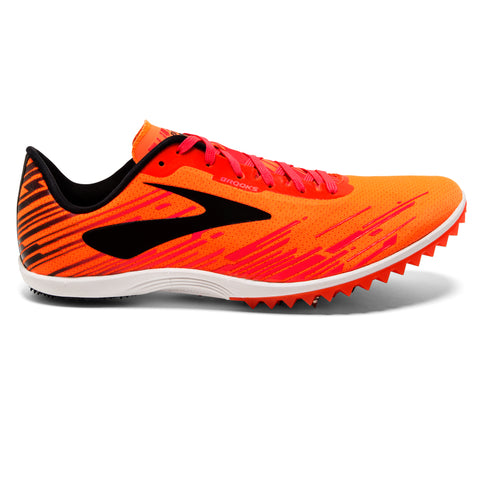 Brooks Mach 18 Spike Men's Orange