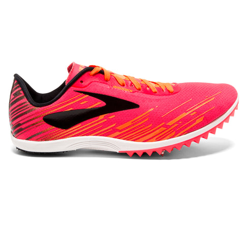 Brooks Mach 18 Spike Women's Pink Orange Black