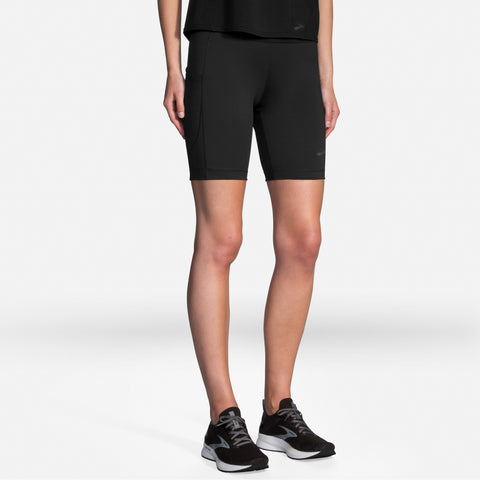 "Brooks Method 8"" Short Tight Women's Black"