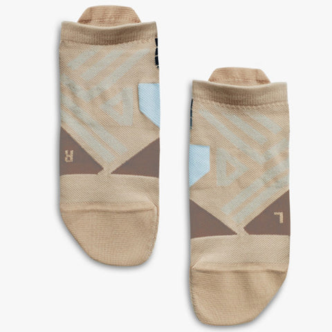 ON RUNNING LOW SOCK WOMEN'S ROSEBROWN