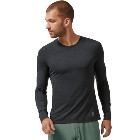 ON PERFORMANCE LONG T MEN'S BLACK