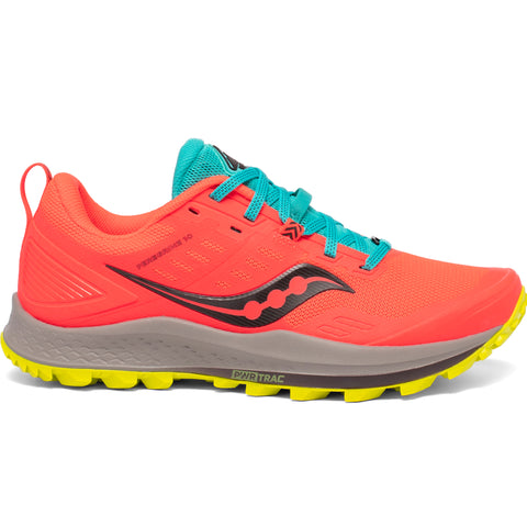 SAUCONY PEREGRINE 10 WOMEN'S RED MUTANT