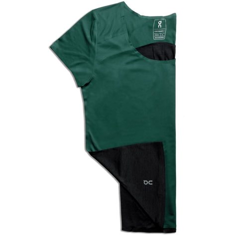 On Running Performance Tee Women's Evergreen Black
