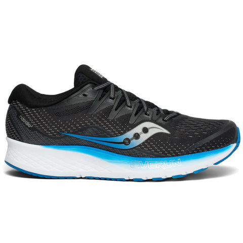 SAUCONY RIDE ISO 2 MEN'S BLACK BLUE