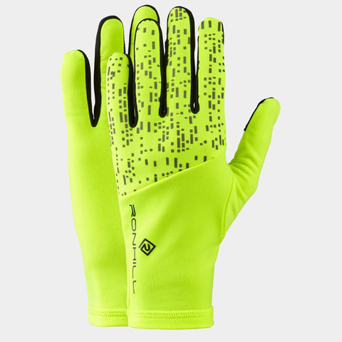 Ronhill Night Runner Glove Fluo Yellow