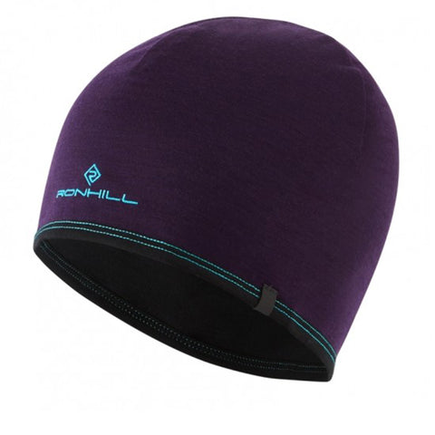 Ronhill Reversible Merino Hat Blackberry