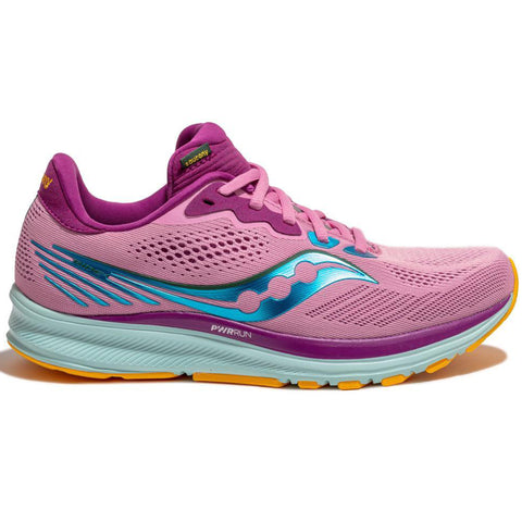 Saucony Women's Ride 14 Future/Pink Rose