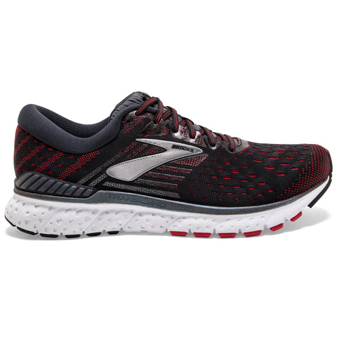 BROOKS TRANSCEND 6 BLACK EBONY RED