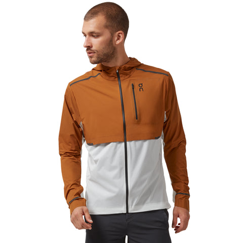 On Weather Jacket Men's Pecan White