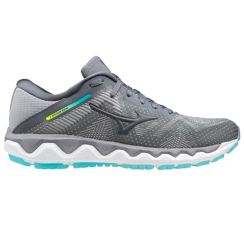 MIZUNO WAVE HORIZON 4 WOMEN'S FROST GREY - CASTLEROCK - SCUBA BLUE