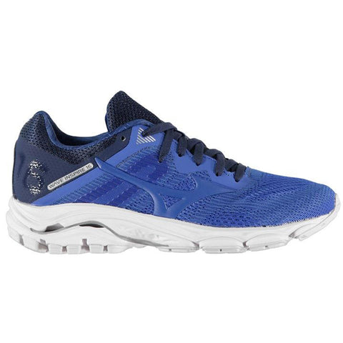 MIZUNO WAVE INSPIRE 16 WOMEN'S  DARK BLUE MED BLUE
