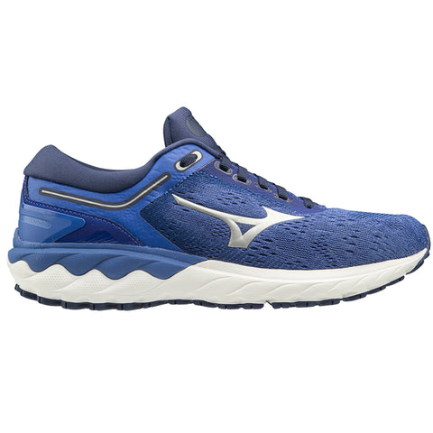 MIZUNO WAVE SKYRISE WOMEN'S DARK BLUE SILVER ULTRAMARINE