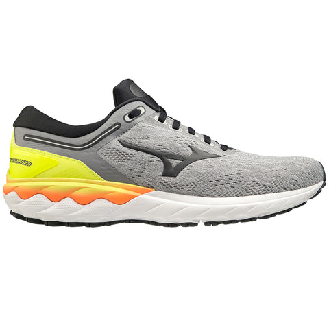 AW20 MIZUNO WAVE SKYRISE MEN'S FROST GREY - PHANTOM - SAFETY YELLOW