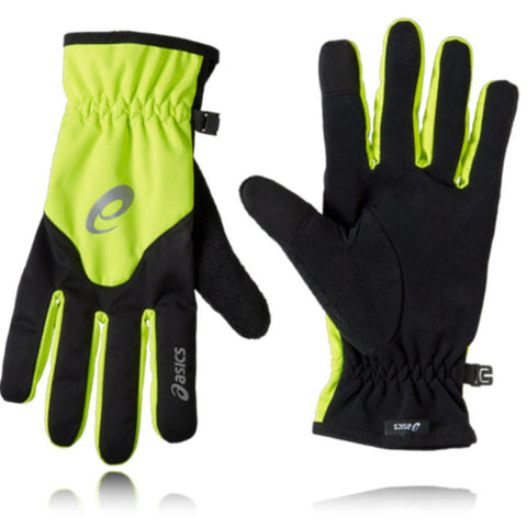 ASICS WINTER RUNNING GLOVES FLUO/BLACK
