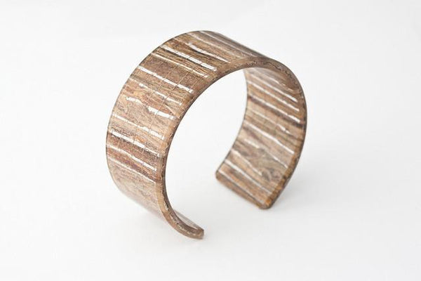 Banana Fibre Cuff - Narrow