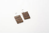 Banana Fibre Earrings - Regular