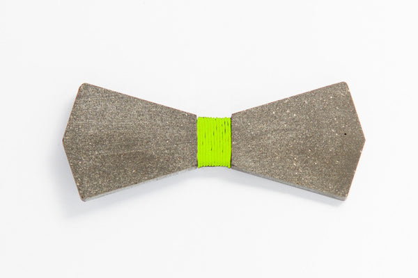 Concrete Bow Tie - Arrow - Light Green