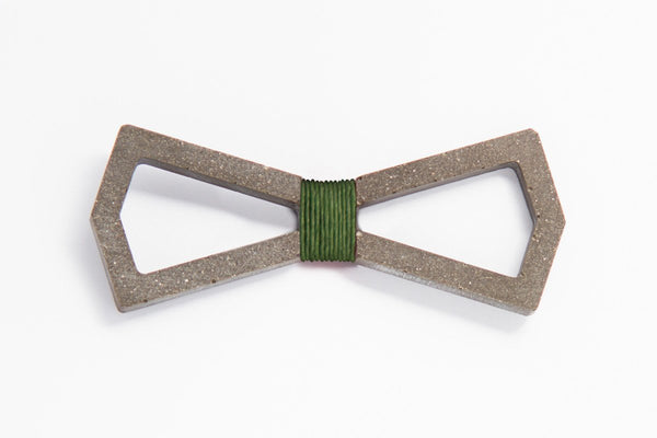 Concrete Bow Tie - Infinity - Army Green