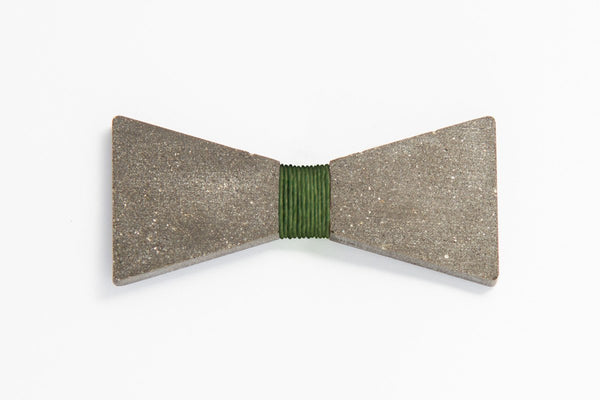 Concrete Bow Tie - Simple - Army Green