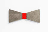 Concrete Bow Tie - Simple - Red