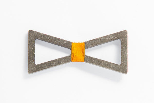 Concrete Bow Tie - Verge - Orange
