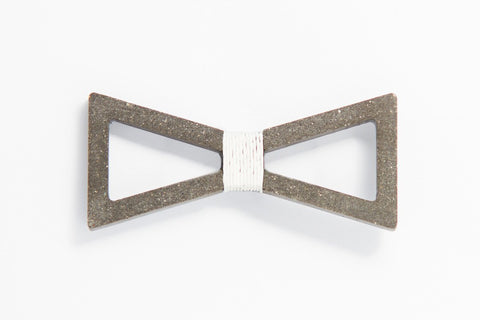 Concrete Bow Tie - Verge - White