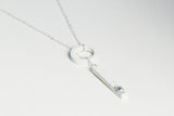 Concrete Fractured Necklace - Lariat