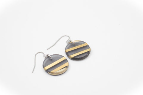 Electra Gold Earrings - Circle