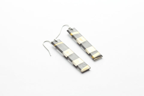 Electra Gold Earrings - Long
