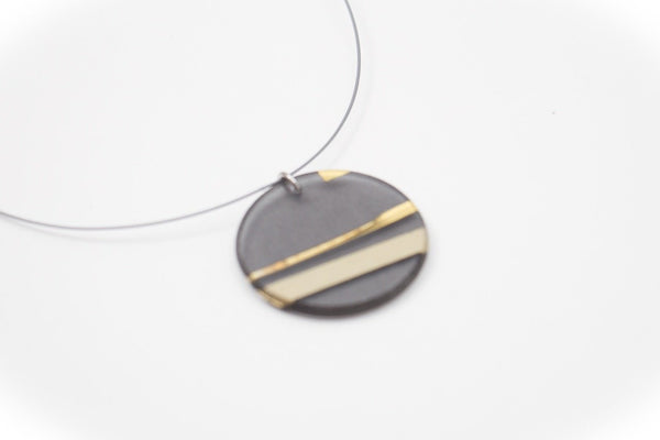 Electra Gold Necklace - Circle