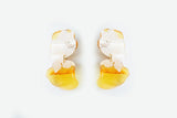 Ecoresin Earrings - Flow Double
