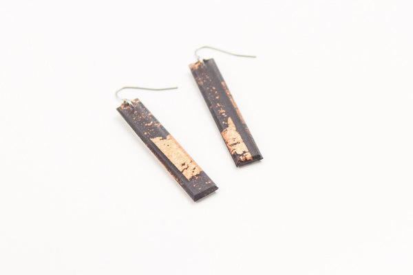 Gild Copper Earrings - Long