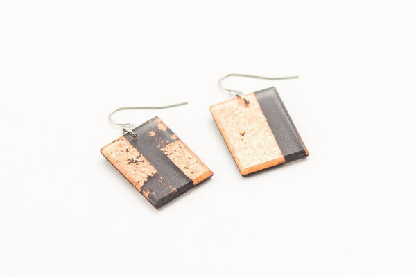 Gild Copper Earrings - Regular