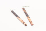 Gild Copper Earrings - Skinny