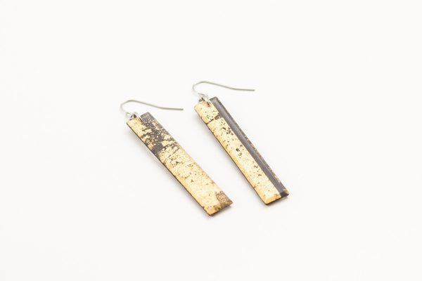 Gild Gold Earrings - Long