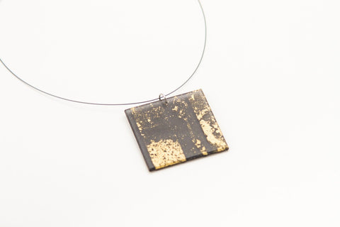 Gild Gold Necklace - Lrg Square