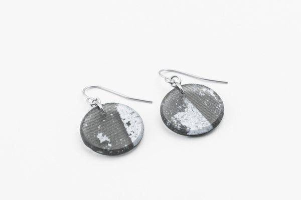 Gild Silver Earrings - Circle
