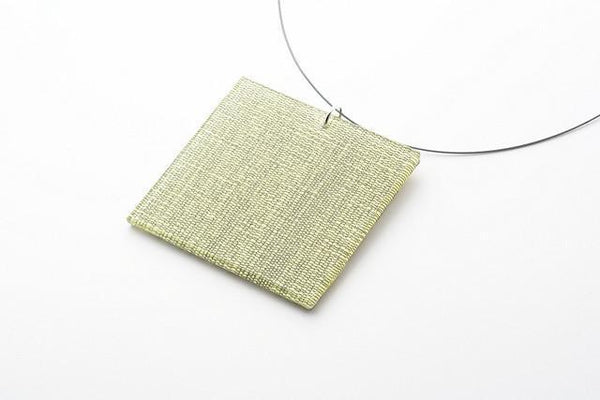 Hush Lichen Necklace - Lrg Square