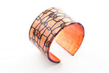 Lasso Coal Copper Cuff - Wide