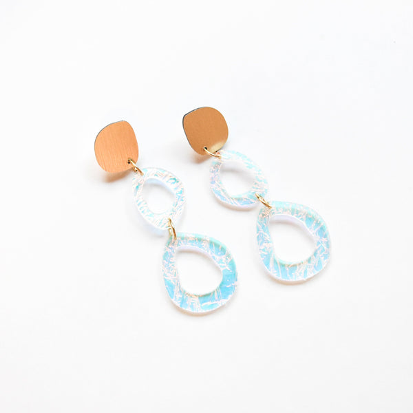 Lunar Earrings - Fluid Double Drop