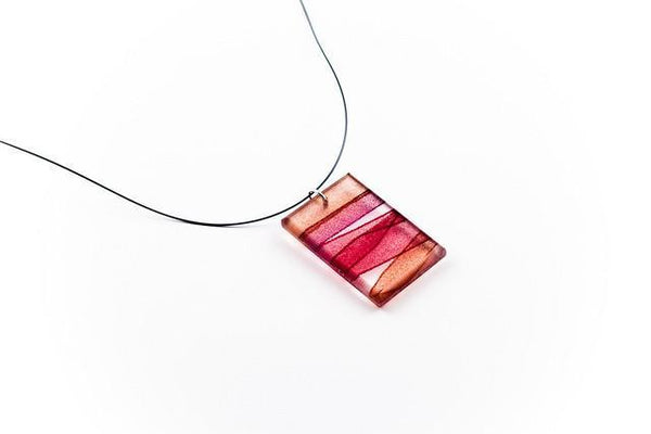 Mirage Claret Necklace - Regular