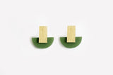 Moss Earrings - Arc Stud