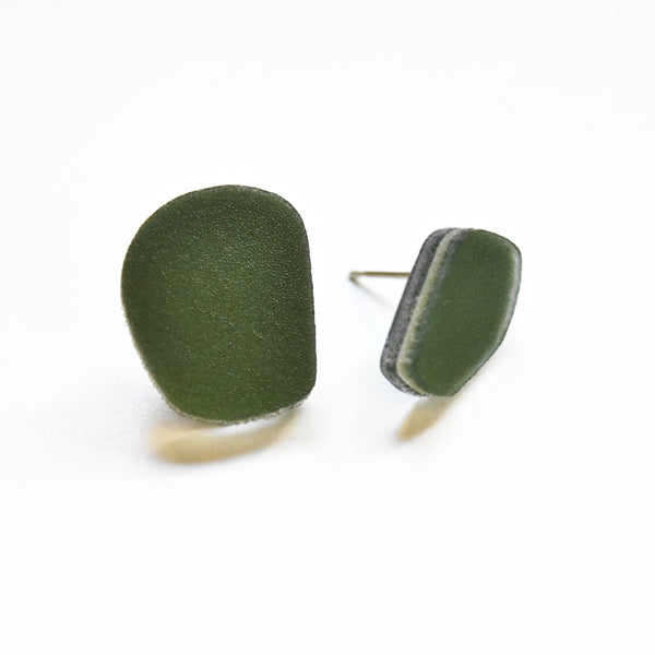 Moss Earrings - Blob