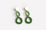 Moss Earrings - Fluid Double Drop