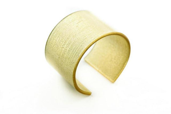 Pure Gold Cuff - Wide