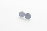 Pure Silver Stud Earrings - Circle