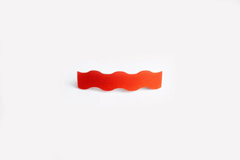 Punch Hair Clip Squiggle