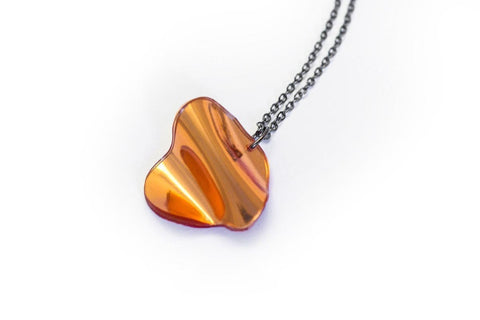 Reflect Copper - Necklace - Flow Small