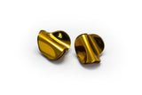 Reflect Gold Earrings - Flow Small Stud